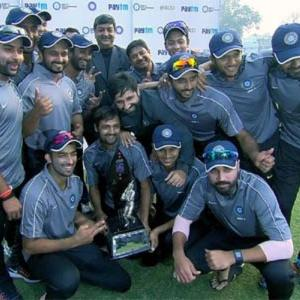 Fazal's century steers India 'A' to Deodhar Trophy title