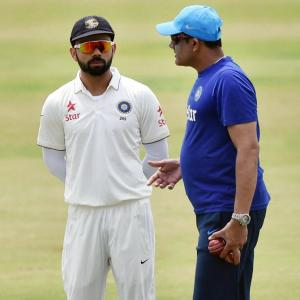 First time a known fighter like Anil did not stand up: Gavaskar
