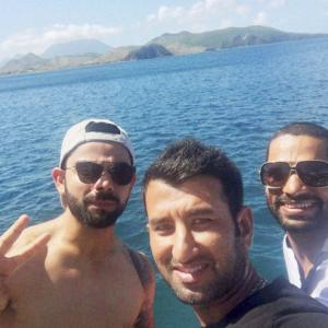 Team India's day off and a bonding session to remember!