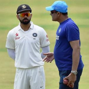 It's a winning start for Kohli-Kumble partnership