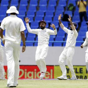Records galore for India in first Test vs Windies