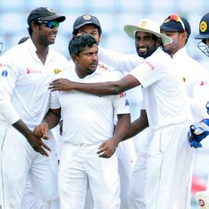 Herath spins Sri Lanka to the brink of victory against Zimbabwe