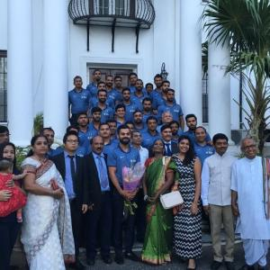 PICS: Indian team attends a special event in Kingston