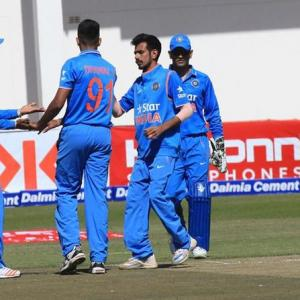 India prove too strong for Zimbabwe again