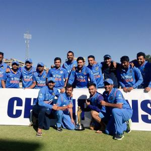 India complete 3-0 sweep over Zimbabwe after 10-wkt win