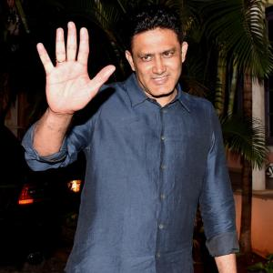 Conflict of interest issue will be resolved before taking charge: Kumble