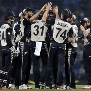 Stats: New Zealand spinners script history against India at Nagpur