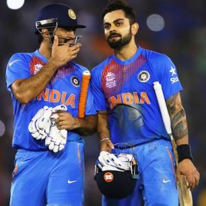Kohli backs under-fire Dhoni