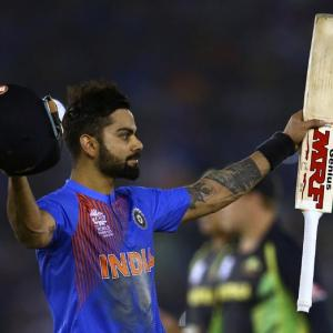 World T20: Dhoni waxes eloquent about Kohli