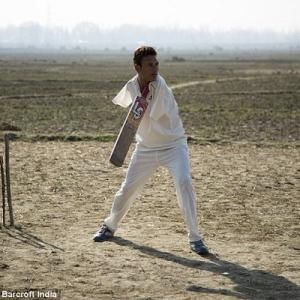 Inspirational: He lost both arms at 8 but now captain's a cricket team
