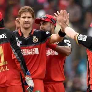 IPL: Watson to lead RCB in injured Kohli's absence