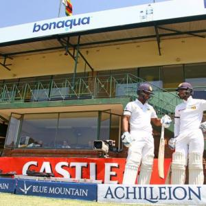 Sri Lanka take command of second Test vs Zimbabwe