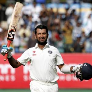 We want to bat well tomorrow and press for a win: Pujara