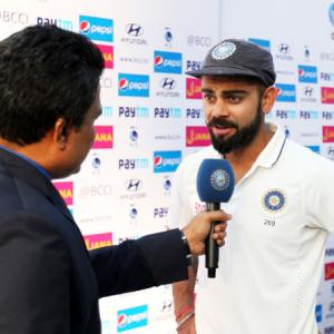 Important to play against momentum sometimes: Kohli