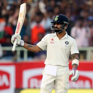 Kohli leads the way as India dominate Day 1 of Vizag Test