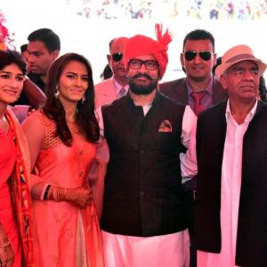 It's a star-studded evening as wrestlers Geeta Phogat-Pawan Kumar wed
