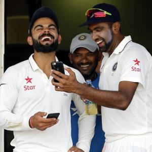 Numbers game: No stopping Ashwin, Kohli