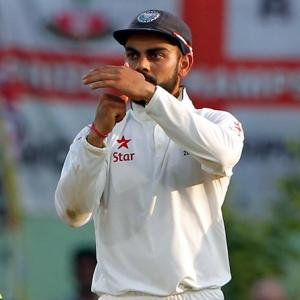Captain Kohli 'happy' with umpire's call in DRS
