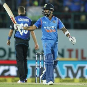 1st ODI: Kohli stars in India's six-wicket win vs NZ