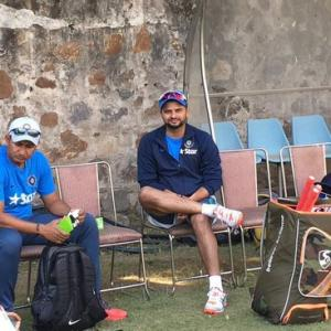 Raina ruled out as India train for 2nd ODI