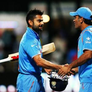 'No ego problem, Kohli can learn a lot from Dhoni'