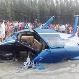 Bangladesh's Shakib Al Hasan narrowly escapes helicopter crash