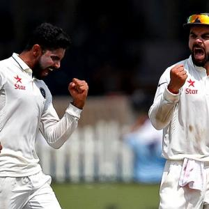 PHOTOS, 1st Test, Day 3: India take charge after Kiwi meltdown