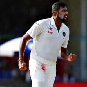 PHOTOS: Record-breaking Ashwin leaves New Zealand on the brink