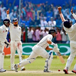 PHOTOS: India thrash New Zealand by 197 runs in Kanpur