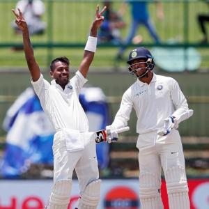 PHOTOS: Pandya, Kuldeep put India on course for series whitewash