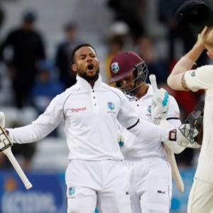 Hope is Windies hero in incredible Test triumph