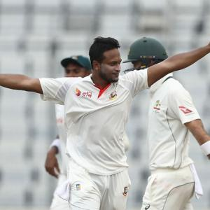 Shakib matches Hadlee as he backs words with action in Dhaka