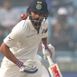 'Virat didn't need pollution mask to bat nearly two days'