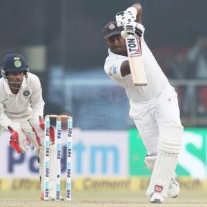 3rd Test, PHOTOS: Kohli's 234 fuels India's charge at smog-hit Delhi