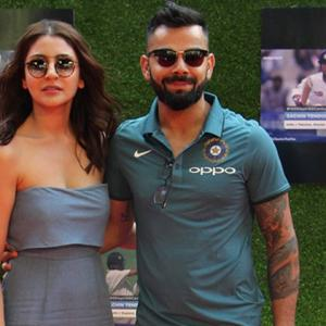 Sublime Kohli thanks wife Anushka for his rich form
