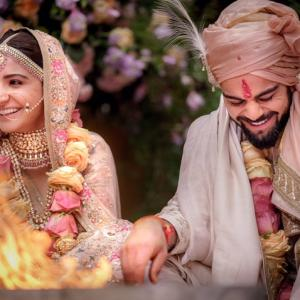 PHOTOS: Virat Kohli and Anushka Sharma married!
