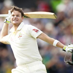 PHOTOS, 3rd Ashes Test: Smith, Marsh put England to the sword