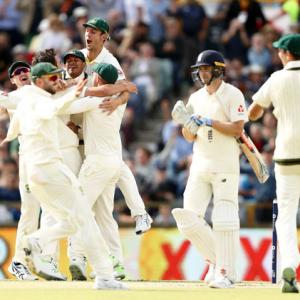 PHOTOS: Australia reclaim Ashes with innings and 41-run win at WACA
