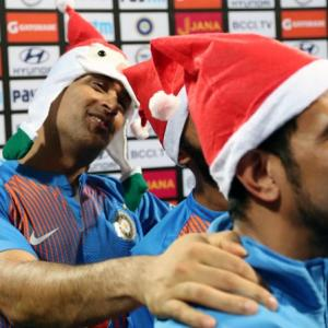 PIX: Team India celebrates Christmas in style