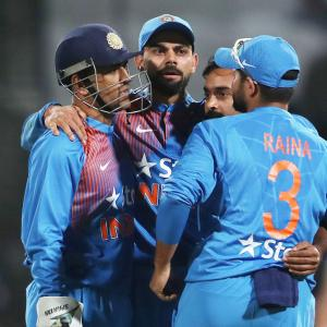 Kohli has veteran Dhoni's back and the youngsters' trust