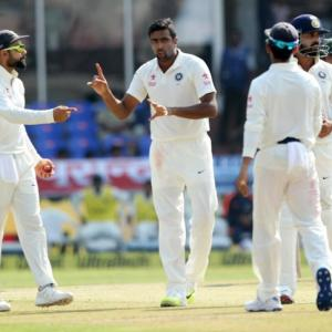 Ravichandran Ashwin's biggest advantage...