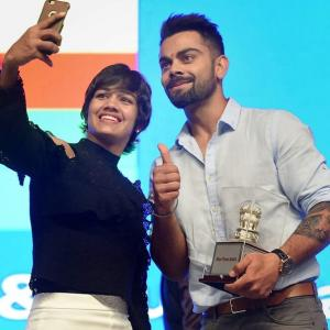 Love your dreams, live your dreams: Kohli to athletes