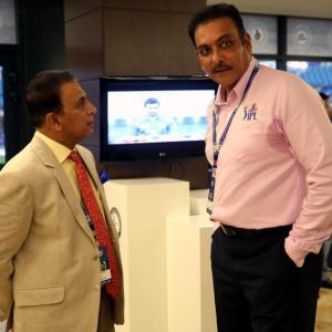 Gavaskar takes on Shastri over 'best Indian team overseas' comment