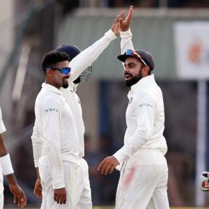 PHOTOS: Sri Lanka vs India, Galle Test, Day 2