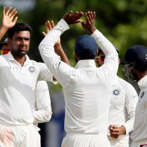 Dominant India humiliate Sri Lanka in first Test
