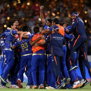 PHOTOS: Last-ball win gives Mumbai Indians 3rd IPL title