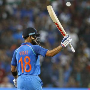 Kohli only Indian in top 10 of ICC ODI rankings