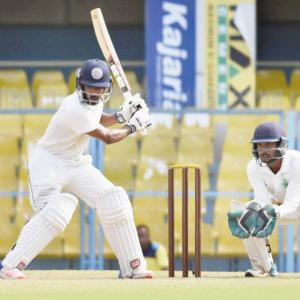 Ranji round-up: Pant, Rana take Delhi to 260/4 vs Maharashtra