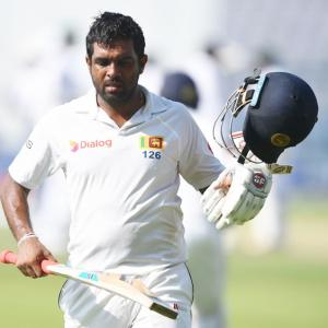Brain Fade2? No. Perera did not take help for DRS