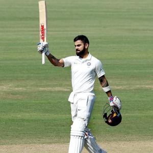 Astrologer 'predicts' Kohli will surpass Sachin's 100 tons by 2025